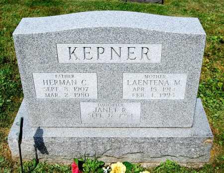 "KEPNER, HERMAN C. ""MANNY"" - Juniata County, Pennsylvania   HERMAN C. ""MANNY"" KEPNER - Pennsylvania Gravestone Photos"