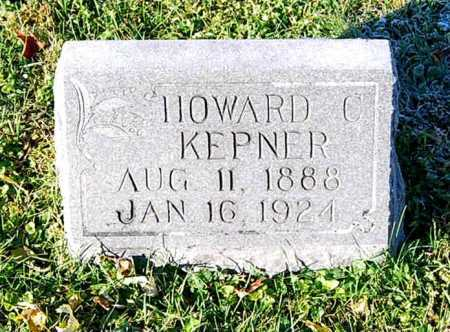 KEPNER, HOWARD C. - Juniata County, Pennsylvania | HOWARD C. KEPNER - Pennsylvania Gravestone Photos