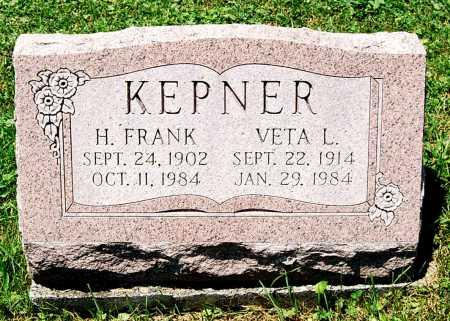 KEPNER, H. FRANK - Juniata County, Pennsylvania | H. FRANK KEPNER - Pennsylvania Gravestone Photos