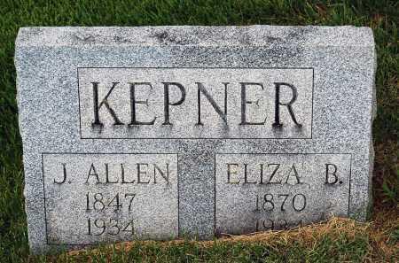 KEPNER, ELIZA B. - Juniata County, Pennsylvania   ELIZA B. KEPNER - Pennsylvania Gravestone Photos