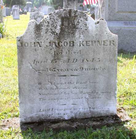 KEPNER, JOHN JACOB - Juniata County, Pennsylvania | JOHN JACOB KEPNER - Pennsylvania Gravestone Photos