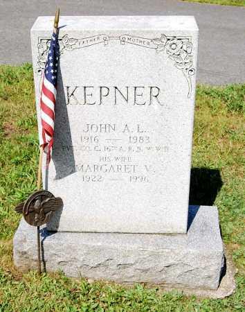 KEPNER, JOHN A. L. - Juniata County, Pennsylvania | JOHN A. L. KEPNER - Pennsylvania Gravestone Photos