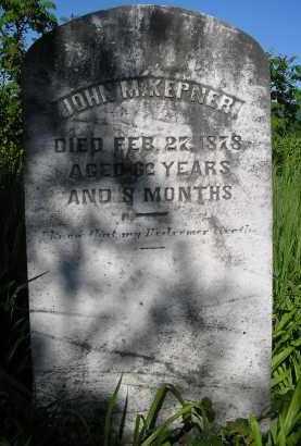 KEPNER, JOHN M. - Juniata County, Pennsylvania | JOHN M. KEPNER - Pennsylvania Gravestone Photos