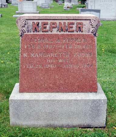 KEPNER, LEMUEL ALEXANDER - Juniata County, Pennsylvania | LEMUEL ALEXANDER KEPNER - Pennsylvania Gravestone Photos