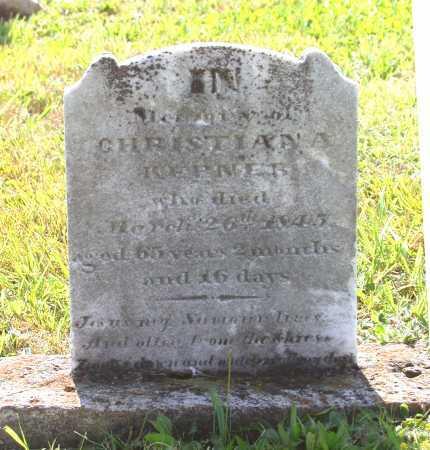KEPNER, MARIA CHRISTIANA - Juniata County, Pennsylvania | MARIA CHRISTIANA KEPNER - Pennsylvania Gravestone Photos