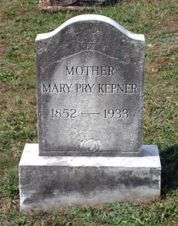 KEPNER, MARY - Juniata County, Pennsylvania | MARY KEPNER - Pennsylvania Gravestone Photos