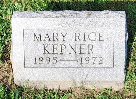 KEPNER, MARY MAY - Juniata County, Pennsylvania | MARY MAY KEPNER - Pennsylvania Gravestone Photos