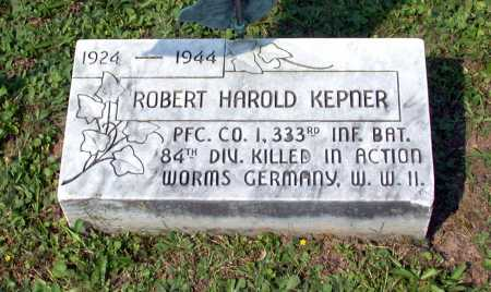 KEPNER, ROBERT HAROLD - Juniata County, Pennsylvania | ROBERT HAROLD KEPNER - Pennsylvania Gravestone Photos