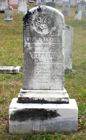 KEPNER, VIOLA FANNIE - Juniata County, Pennsylvania | VIOLA FANNIE KEPNER - Pennsylvania Gravestone Photos