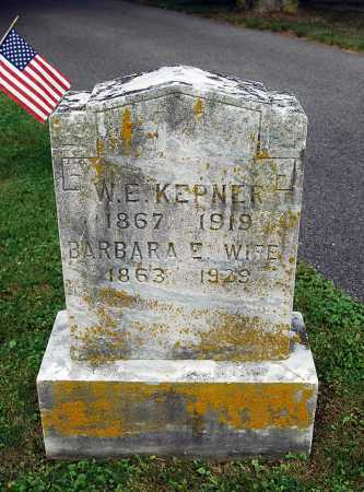 "KEPNER, BARBARA ETHEL ""ETTA"" - Juniata County, Pennsylvania | BARBARA ETHEL ""ETTA"" KEPNER - Pennsylvania Gravestone Photos"