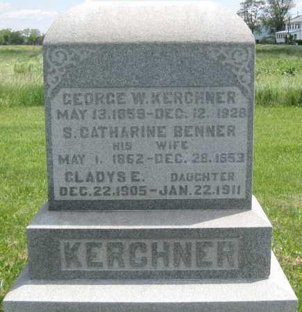 KERCHNER, S. CATHARINE - Juniata County, Pennsylvania   S. CATHARINE KERCHNER - Pennsylvania Gravestone Photos