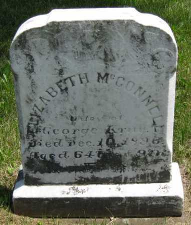 MCCONNELL KRUG, ELIZABETH - Juniata County, Pennsylvania | ELIZABETH MCCONNELL KRUG - Pennsylvania Gravestone Photos