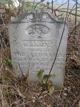 YEIGH LEONARD, NANCY - Juniata County, Pennsylvania | NANCY YEIGH LEONARD - Pennsylvania Gravestone Photos