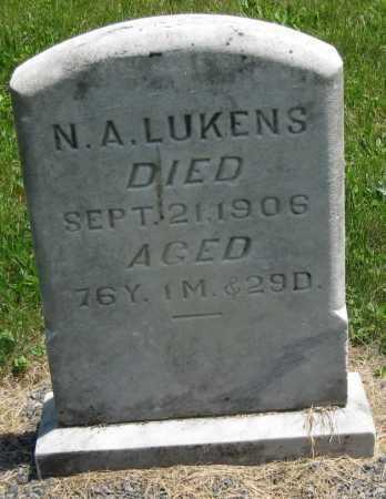 LUKENS, N. A. - Juniata County, Pennsylvania | N. A. LUKENS - Pennsylvania Gravestone Photos