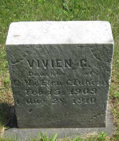LUKENS, VIVIEN G. - Juniata County, Pennsylvania | VIVIEN G. LUKENS - Pennsylvania Gravestone Photos