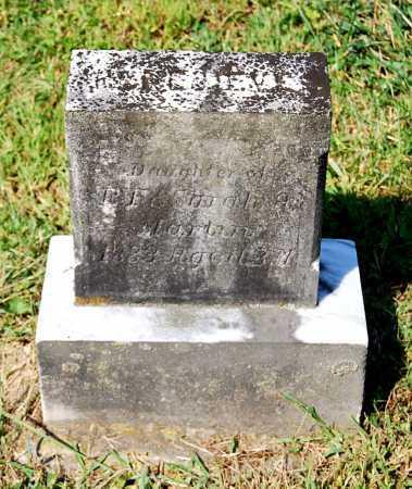 MARTIN, (UNKNOWN DAUGHTER) - Juniata County, Pennsylvania   (UNKNOWN DAUGHTER) MARTIN - Pennsylvania Gravestone Photos