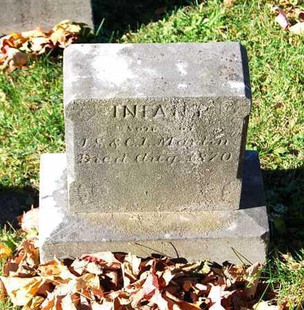 MARTIN, (INFANT SON) - Juniata County, Pennsylvania | (INFANT SON) MARTIN - Pennsylvania Gravestone Photos
