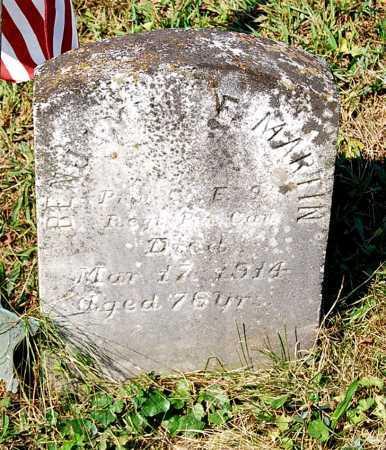 MARTIN, BENJAMIN F. - Juniata County, Pennsylvania | BENJAMIN F. MARTIN - Pennsylvania Gravestone Photos