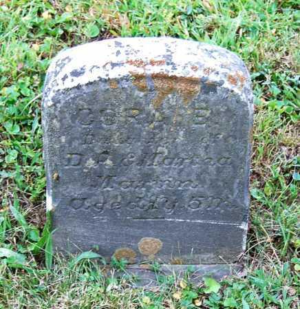 MARTIN, CORA E. - Juniata County, Pennsylvania   CORA E. MARTIN - Pennsylvania Gravestone Photos
