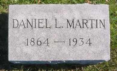 MARTIN, DANIEL L. - Juniata County, Pennsylvania   DANIEL L. MARTIN - Pennsylvania Gravestone Photos