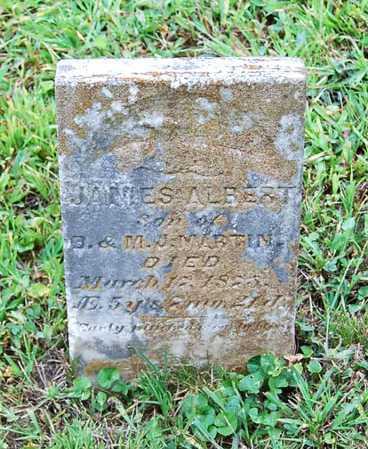 MARTIN, JAMES ALBERT - Juniata County, Pennsylvania | JAMES ALBERT MARTIN - Pennsylvania Gravestone Photos