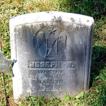 MARTIN, JOSEPH W. - Juniata County, Pennsylvania   JOSEPH W. MARTIN - Pennsylvania Gravestone Photos