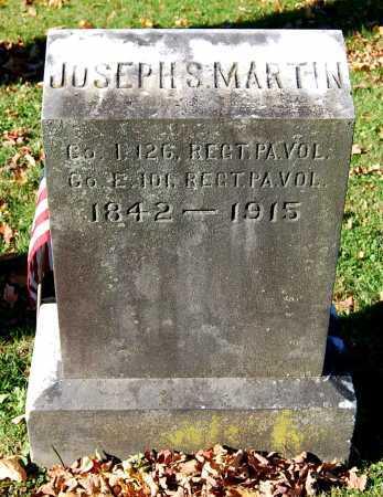 MARTIN, JOSEPH S. - Juniata County, Pennsylvania | JOSEPH S. MARTIN - Pennsylvania Gravestone Photos
