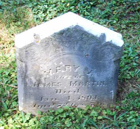 MARTIN, MARY JANE - Juniata County, Pennsylvania   MARY JANE MARTIN - Pennsylvania Gravestone Photos