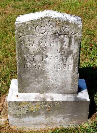 MARTIN, SARAH A. - Juniata County, Pennsylvania | SARAH A. MARTIN - Pennsylvania Gravestone Photos