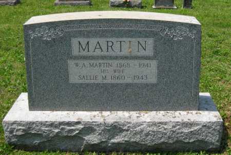 MARTIN, W. A. - Juniata County, Pennsylvania | W. A. MARTIN - Pennsylvania Gravestone Photos