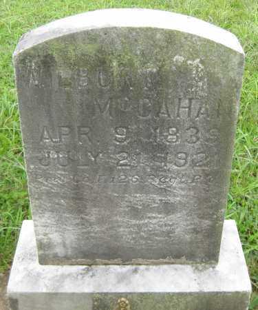 MCCAHAN, WILBUR FISH - Juniata County, Pennsylvania | WILBUR FISH MCCAHAN - Pennsylvania Gravestone Photos