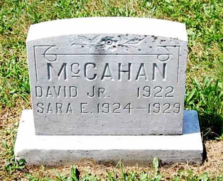 MCCAHAN, DAVID HOMER - Juniata County, Pennsylvania | DAVID HOMER MCCAHAN - Pennsylvania Gravestone Photos