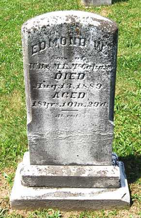 MCCAHAN, EDMOND WAREMAN - Juniata County, Pennsylvania | EDMOND WAREMAN MCCAHAN - Pennsylvania Gravestone Photos