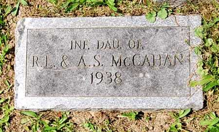 MCCAHAN, (INFANT DAUGHTER) - Juniata County, Pennsylvania   (INFANT DAUGHTER) MCCAHAN - Pennsylvania Gravestone Photos
