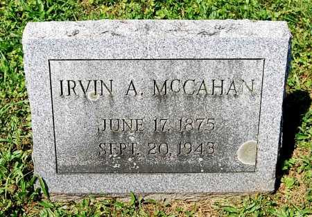 MCCAHAN, IRVIN ALEXANDER - Juniata County, Pennsylvania | IRVIN ALEXANDER MCCAHAN - Pennsylvania Gravestone Photos