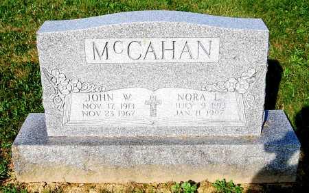 MCCAHAN, NORA L. - Juniata County, Pennsylvania | NORA L. MCCAHAN - Pennsylvania Gravestone Photos