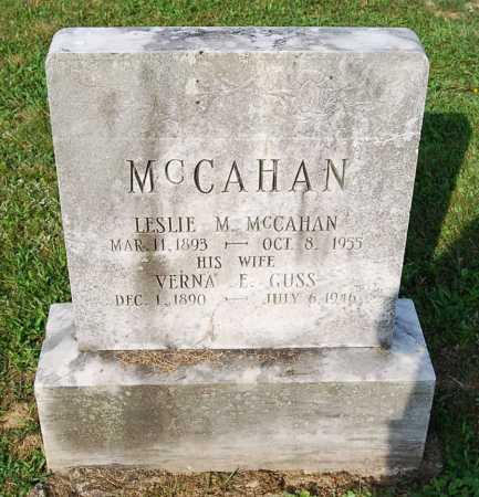 MCCAHAN, LESLIE MILTON - Juniata County, Pennsylvania | LESLIE MILTON MCCAHAN - Pennsylvania Gravestone Photos