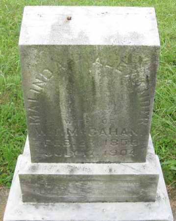 MCCAHAN, MALINDA P - Juniata County, Pennsylvania | MALINDA P MCCAHAN - Pennsylvania Gravestone Photos