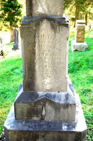 MCCAHAN, MARY M. - Juniata County, Pennsylvania | MARY M. MCCAHAN - Pennsylvania Gravestone Photos