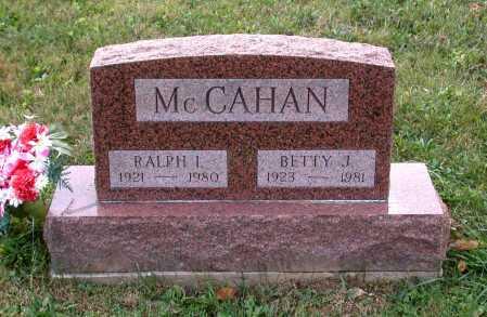 MCCAHAN, BETTY J. - Juniata County, Pennsylvania | BETTY J. MCCAHAN - Pennsylvania Gravestone Photos