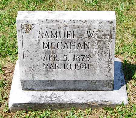 MCCAHAN, SAMUEL WESLEY - Juniata County, Pennsylvania | SAMUEL WESLEY MCCAHAN - Pennsylvania Gravestone Photos
