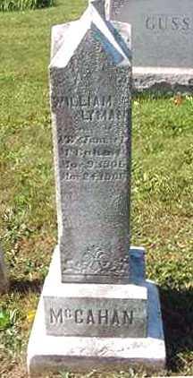 MCCAHAN, WILLIAM LYMAN - Juniata County, Pennsylvania   WILLIAM LYMAN MCCAHAN - Pennsylvania Gravestone Photos