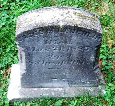MCLAUGHLIN, JACOB - Juniata County, Pennsylvania | JACOB MCLAUGHLIN - Pennsylvania Gravestone Photos