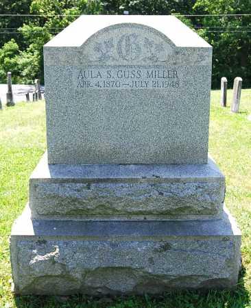 MILLER, AULA SALINA - Juniata County, Pennsylvania | AULA SALINA MILLER - Pennsylvania Gravestone Photos
