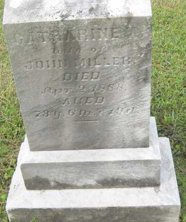 MILLER, CATHARINE - Juniata County, Pennsylvania | CATHARINE MILLER - Pennsylvania Gravestone Photos