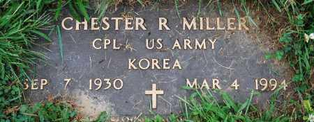 MILLER, CHESTER R. - Juniata County, Pennsylvania | CHESTER R. MILLER - Pennsylvania Gravestone Photos