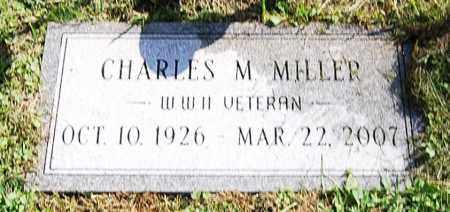 MILLER, CHARLES M. - Juniata County, Pennsylvania | CHARLES M. MILLER - Pennsylvania Gravestone Photos