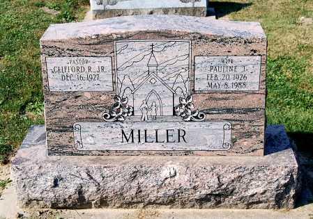MILLER, CLIFFORD R. - Juniata County, Pennsylvania | CLIFFORD R. MILLER - Pennsylvania Gravestone Photos