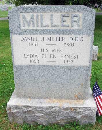 MILLER, LYDIA ELLEN - Juniata County, Pennsylvania | LYDIA ELLEN MILLER - Pennsylvania Gravestone Photos