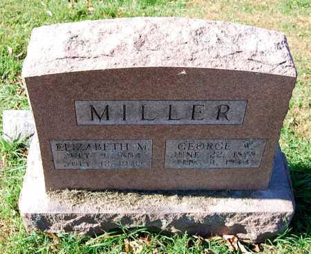 MILLER, GEORGE W. - Juniata County, Pennsylvania | GEORGE W. MILLER - Pennsylvania Gravestone Photos